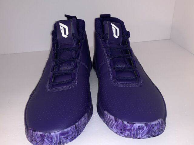 adidas dame 5 purple