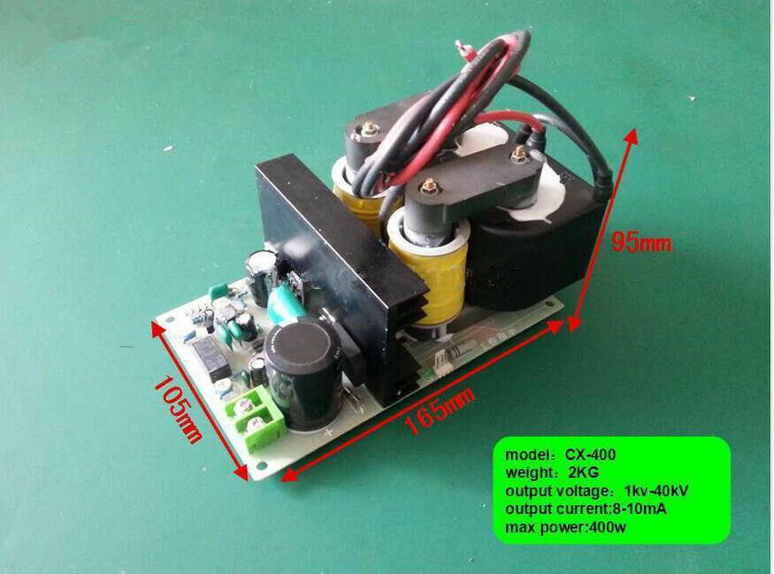 Image 1 - High-Voltage-Power-Supply-with-40-KV-400-W-Output-for-Removing-Smoke-Lampblack