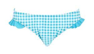 9ba515013a527 Blue White Gingham Rockabilly 60s Pinup Style Bikini Bottoms Bathing ...