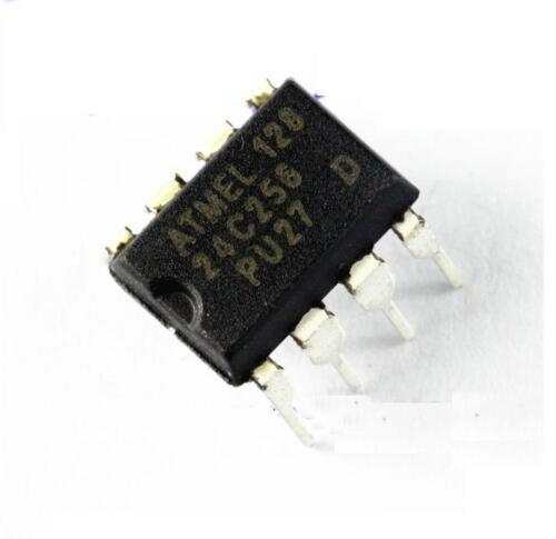 50PCS ATMEL AT24C256 DIP8 24C256 DIP-8 EEPROM NEW
