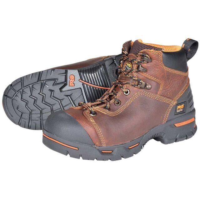 "Timberland PRO Men's Endurance PRO Waterproof Steel Toe 6"" Work Boot 47591"