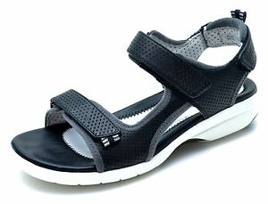 Clarks-Unstructured-Artisan-Un-Neema-Black-Sport-Sandals-Women-039-s-6-Wide-NEW