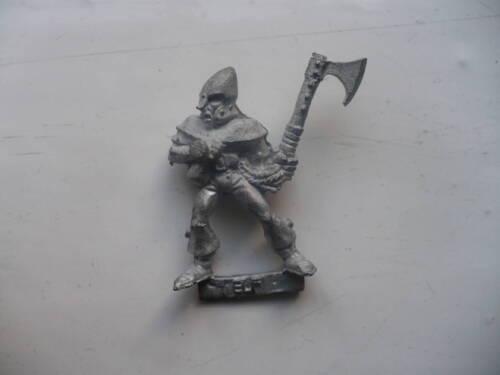 Citadel Warhammer classic 80/'s Elf Warrior Okelos oop