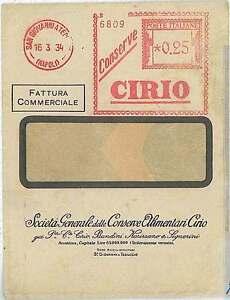 ITALIA-REGNO-storia-postale-ANNULLO-ROSSO-MECCANICO-CIRIO-NAPOLI-1934