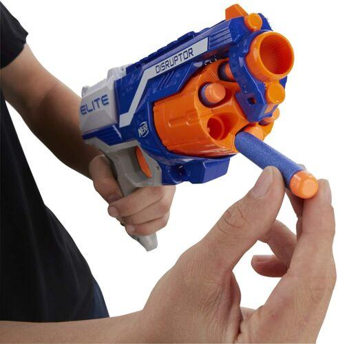 Pistola giocattolo a dardi Nerf Distruptor con tamburo rotante da 6 proiettili