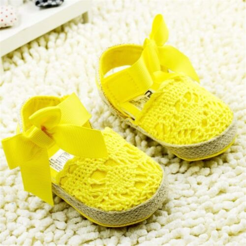 Graceful Glitter baby shoes sneaker anti-slip soft sole toddler size 0-18 months