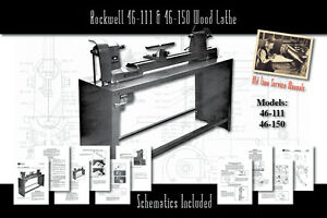 Rockwell 46 111 14 11 Amp 46 150 Wood Lathe Service Owner S