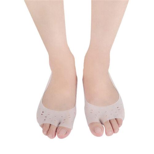 Orthopedic Open Toe Boat Socks Separator Orthotics Five Toe Corrector Socks CB