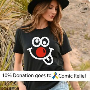 RED NOSE DAY T Shirt, Comic Relief Funny Gift Tshirts for Kids and Adult 448