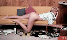 Yvette Vickers 70s Nude on Couch Pinup 13 x 19 Photograph