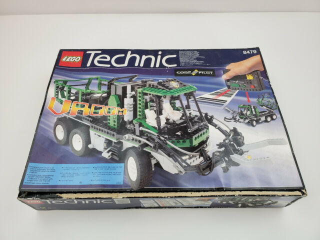 LEGO Technic Barcode Multi-set 8479 From 1997 Green Dump Truck RC Remote 3  in 1