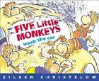 Five Little Monkeys Wash the Car by Eileen Christelow (Paperback, 2000)