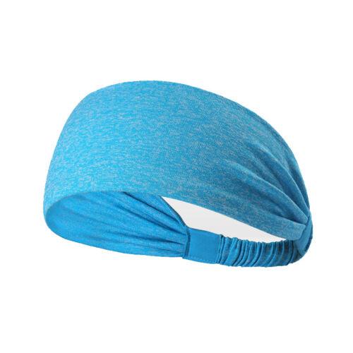 3Pack Mens Women Sweatbelt Headband Yoga Gym Running Stretch Sports Head Band US