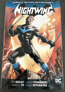 DC Comics Nightwing Rebirth Deluxe Edition Vol. 1 Hardcover Batman Grayson New