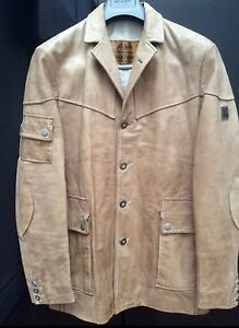 BELSTAFF-RARE-LEATHER-HAMPSTEAD-BLAZER-COAT-JACKET-DESIGNER
