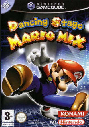 Dancing Stage: Mario Mix (MAT/PAD NOT INCLUDED) (Nintendo GameCube, 2005)