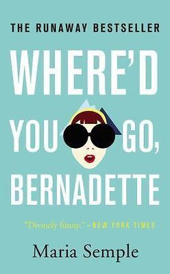 Where d you go bernadette book