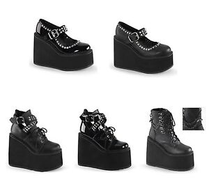 05 Platform 12 101 Ebay Wedge Women's 03 5 Swing Demonia AqxaUva