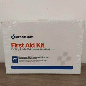 25 Person Metal Acme First Aid Kit 738743060868 Expires 2023 160 Pcs Ships Free