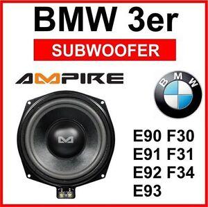 ampire bmw w1 bmw untersitz bass subwoofer bmw 3er e90 e91. Black Bedroom Furniture Sets. Home Design Ideas