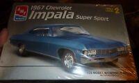 Amt Ertl 1967 Chevrolet Impala Super Sport 1/25 Ss Model Car Mountain