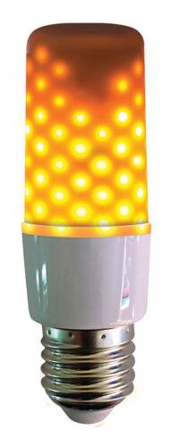E 27-3 W LED Flammenlicht Opal