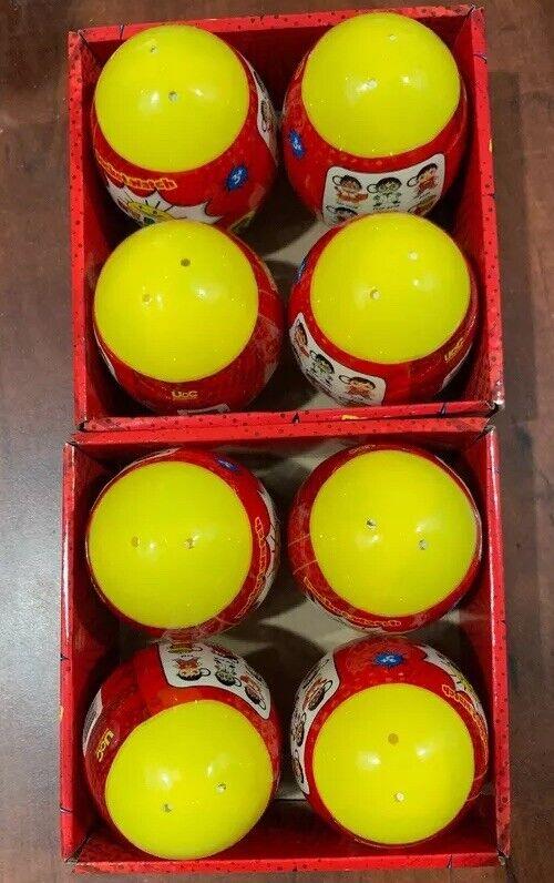 Lot Of 8 Ryan's World Surprise Egg Plush Clip - Includes One Random Plushie