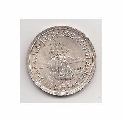 2/4/16 For Improving Blood Circulation Coins: World Ambitious Südafrica 5 Schilling 1952 Georg Vi/schiff Nr