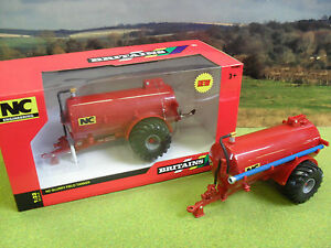 BRITAINS NC 2500 SLURRY TANKER FIELD SIDE 42891 1/32 *BOXED & NEW*