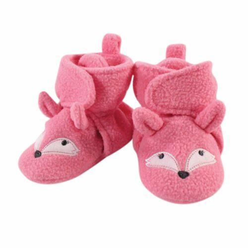 Miss Fox Hudson Baby Animal Fleece Lined Booties