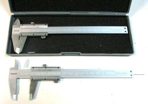 2 Messschieber mit Feststellschraube 150 mm Genauigkeit 0,05 von BAHR Neu H33636