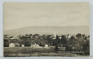 Marysville-Pa-Bird-039-s-Eye-View-c1915-Pennsylvania-Postcard-N6