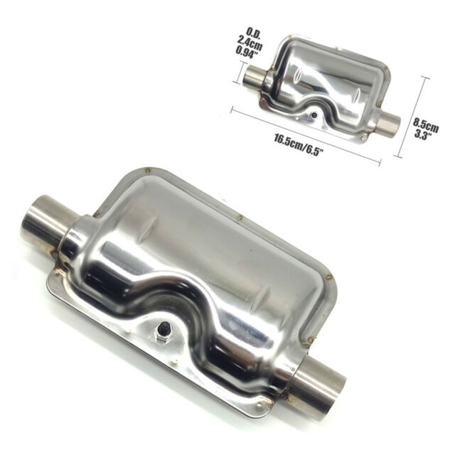 Cars Truck Stainless Steel Exhaust Pipe Silencer for Air Diesel Parking Heater