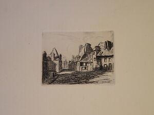 suiv-ARMAND-GUILLAUMIN-GRAVURE-EAU-FORTE-VUE-VILLAGE-IMPRESSIONNISME-1900