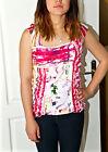 adorable tee shirt débardeur multicolore AVENTURES DES TOILES taille 40 (i44)