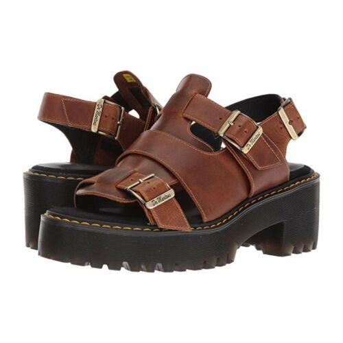 Dr. Martens Ariel Orleans butterscotch sandals 7