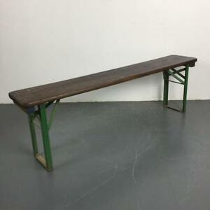 Strange Details About Old Rustic Vintage Wooden Beer Biergarten Garden Bench Customised Length 2271 Caraccident5 Cool Chair Designs And Ideas Caraccident5Info