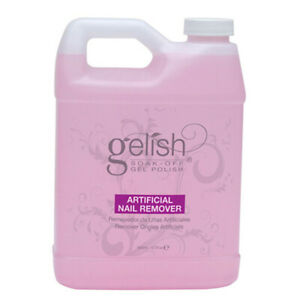 Gelish Soak Off Gel Nail Polish Artificial Nail Remover Bottle Refill 32 Ounces Ebay