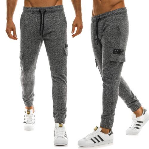 OZONEE 0928 Pantalon Court Jogging Sport Fitness Jogging Jogger Mix