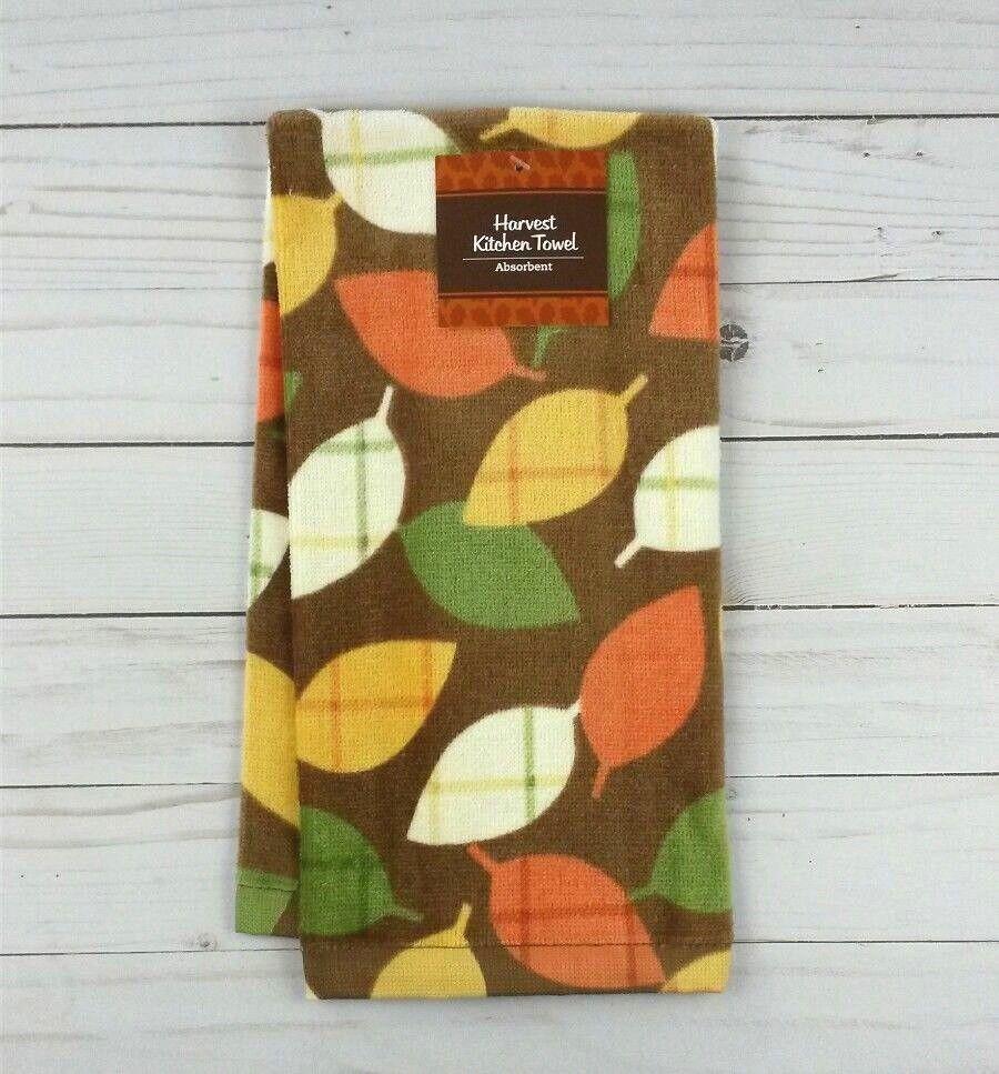 New 15 X25 Microfiber Kitchen Tea Dish Towel Fall Leaves Towels Dishcloths Henrikhakansson Home Garden