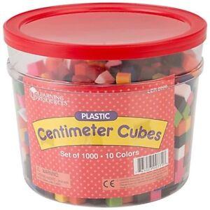 Charitable Ressources D'apprentissage Centimètre Cubes Lot De 1000-afficher Le Titre D'origine