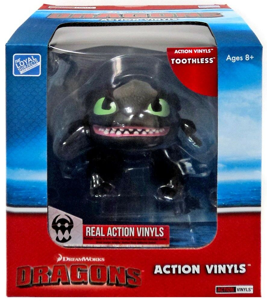 How to Train Your Dragon  azione Vinyls Toothless Vinyl cifra  con il prezzo economico per ottenere la migliore marca