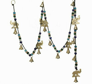 Large-Wind-Chimes-Outdoor-Relaxing-Tones-Brass-Elephant-Bells-on-String-56-inch
