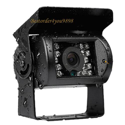 "9/"" TFT LCD Monitor 4Pin IR Car Rear view Reverse Backup Camera for Bus Truck"