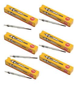 NGK-6-GLOW-PLUGS-NISSAN-PATROL-GQ-4-2L-TD42-1988-1999-12V-electrical