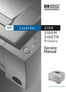 hp laserjet 2100 m tm laser printer 310 page service manual paper rh ebay com hp laserjet 2100 manual pdf hp laserjet 2100/m/tn manual