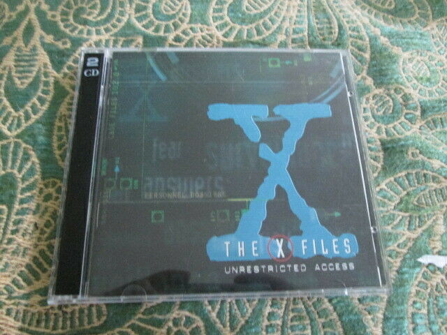 THE X-FILES UNRESTRICTED ACCESS INTERACTIVE 2 CD-ROM SET