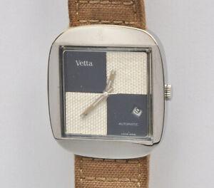 Vetta-original-1970-automatic-steel-watch-with-034-rare-034-dial-nearmint