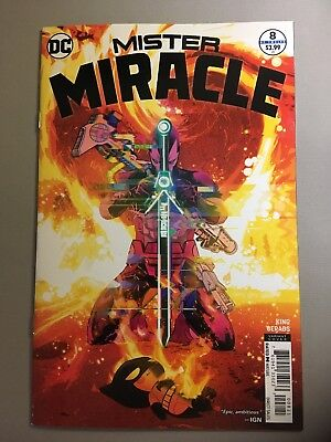 Mister Miracle #11 variant cover DC Comics 2018
