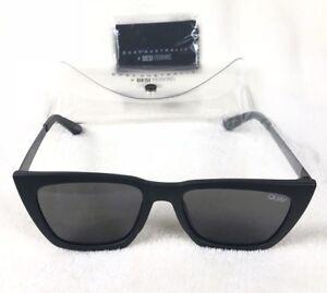 f87d4cc7233 Quay Australia Don t At Me Womens Sunglasses Black And Smoke Quay X ...